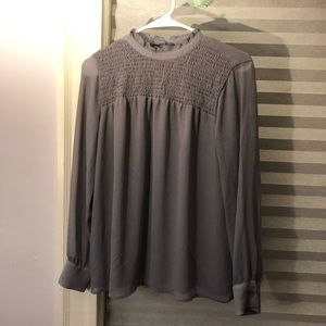 mesh lilac top from ann taylor!!